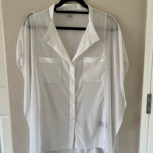 Short Sleeve Blouse by Kenneth Cole